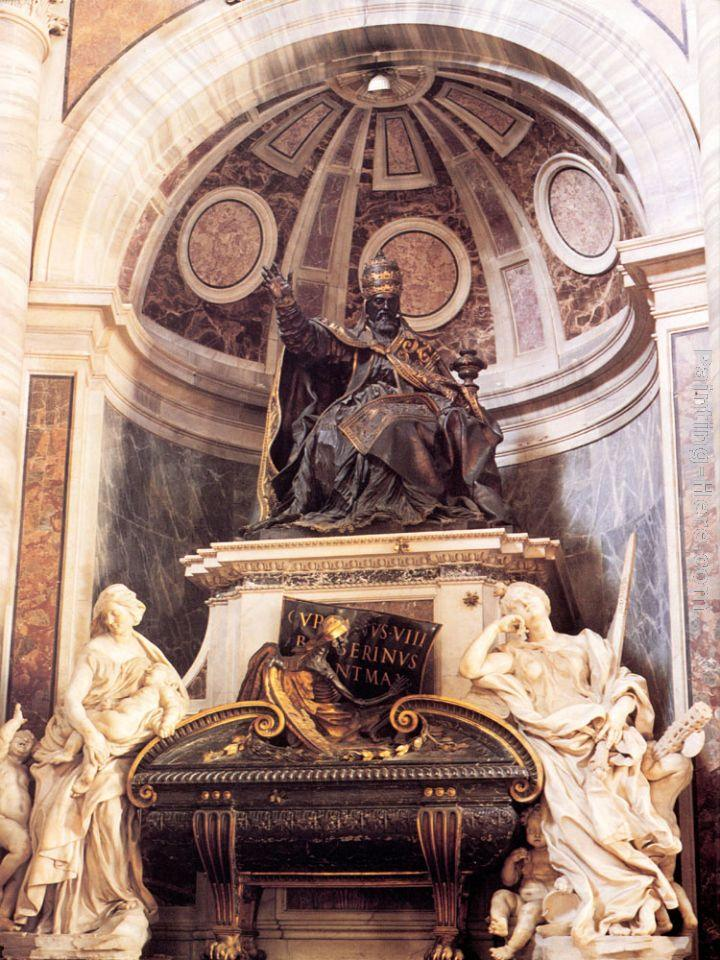 Gian Lorenzo Bernini Tomb of Pope Urban VIII