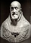 Gian Lorenzo Bernini Bust of Pope Gregory XV painting
