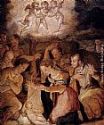 Famous Adoration Paintings - The Nativity With The Adoration Of The Shepherds