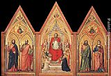 Giotto - The Stefaneschi Triptych - verso