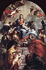 Giovanni Antonio Guardi - Madonna and Child with Saints
