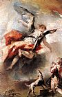 Giovanni Antonio Guardi - The Angel Appears to Tobias