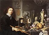 Giovanni Baglione - Self-portrait With Vanitas Symbols
