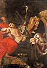 Giovanni Battista Crespi Entombment of Christ painting