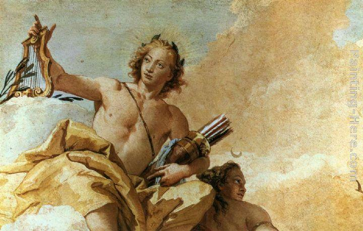 Giovanni Battista Tiepolo Apollo and Diana