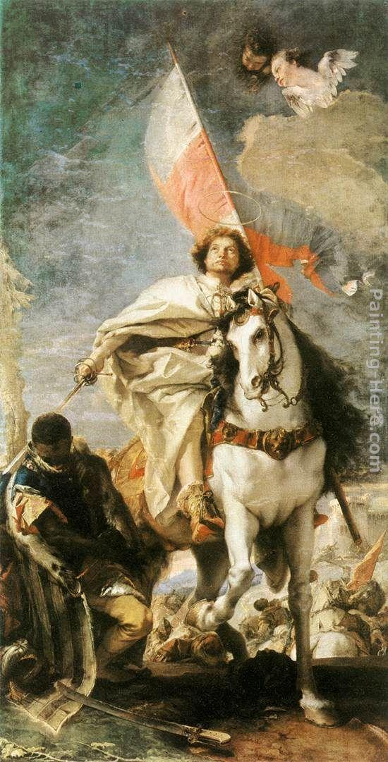 Giovanni Battista Tiepolo St James the Greater Conquering the Moors