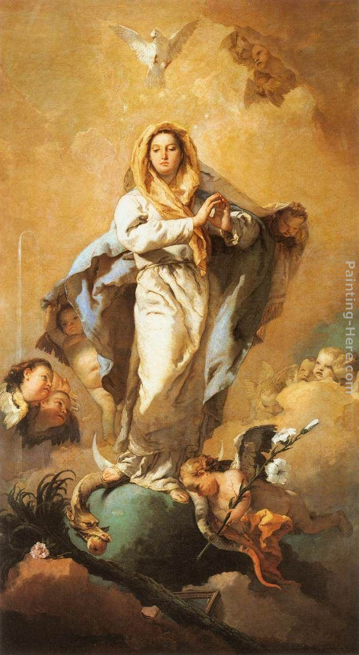 Giovanni Battista Tiepolo Famous Paintings