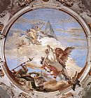 Giovanni Battista Tiepolo Famous Paintings - Bellerophon on Pegasus