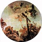 Giovanni Battista Tiepolo Discovery of the True Cross painting