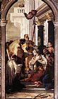 Giovanni Battista Tiepolo Canvas Paintings - Last Communion of St Lucy
