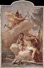 Giovanni Battista Tiepolo Mercury Appearing to Aeneas painting