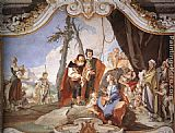 Giovanni Battista Tiepolo Rachel Hiding the Idols from her Father Laban painting