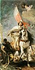 Giovanni Battista Tiepolo Famous Paintings - St James the Greater Conquering the Moors