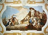 Giovanni Battista Tiepolo The Judgment of Solomon painting