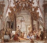 Giovanni Battista Tiepolo Famous Paintings - The Marriage of the Emperor Frederick Barbarossa to Beatrice of Burgundy