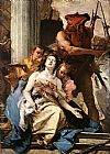 Giovanni Battista Tiepolo Famous Paintings - The Martyrdom of St Agatha