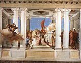 Giovanni Battista Tiepolo Famous Paintings - The Sacrifice of Iphigenia