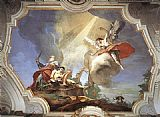Giovanni Battista Tiepolo The Sacrifice of Isaac painting