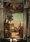 Giovanni Battista Tiepolo The Sacrifice of Melchizedek painting
