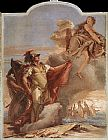 Giovanni Battista Tiepolo Venus Appearing to Aeneas on the Shores of Carthage painting