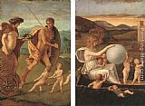 vera Canvas Paintings - Four Allegories Perseverance and Fortune