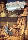 Reading Wall Art - St. Jerome Reading in the Countryside