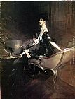 Giovanni Boldini - Consuelo, Duchess of Marlborough, with Her Son Ivor Spencer-Churchill