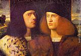 Giovanni Cariani - Portrait of Two Young Men