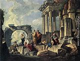 Giovanni Paolo Pannini - Apostle Paul Preaching on the Ruins