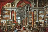 Giovanni Paolo Pannini Picture Gallery with Views of Modern Rome painting