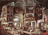 Giovanni Paolo Pannini Roma Antica painting