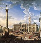sant Wall Art - The Piazza and Church of Santa Maria Maggiore
