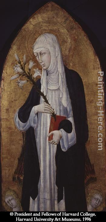 Giovanni di Paolo St Catherine of Siena