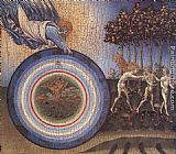 Giovanni di Paolo The Creation and the Expulsion from the Paradise painting