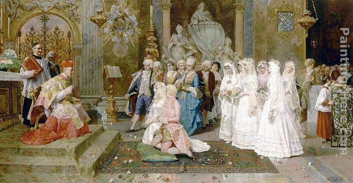 Giulio Rosati The Wedding