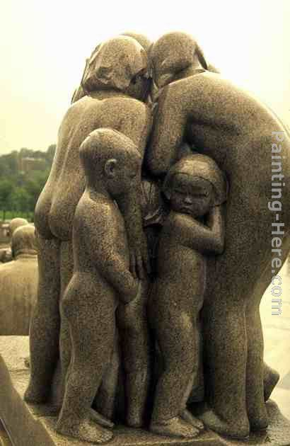 Gustav Vigeland Children