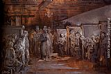 Gustave Dore Tavern In Whitechapel painting