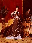 Gustave Leonhard de Jonghe - Dressing For The Ball