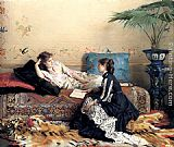 Gustave Leonhard de Jonghe - Idle Moments
