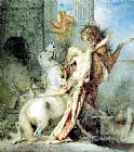 Gustave Moreau - Diomedes Devoured by his Horses