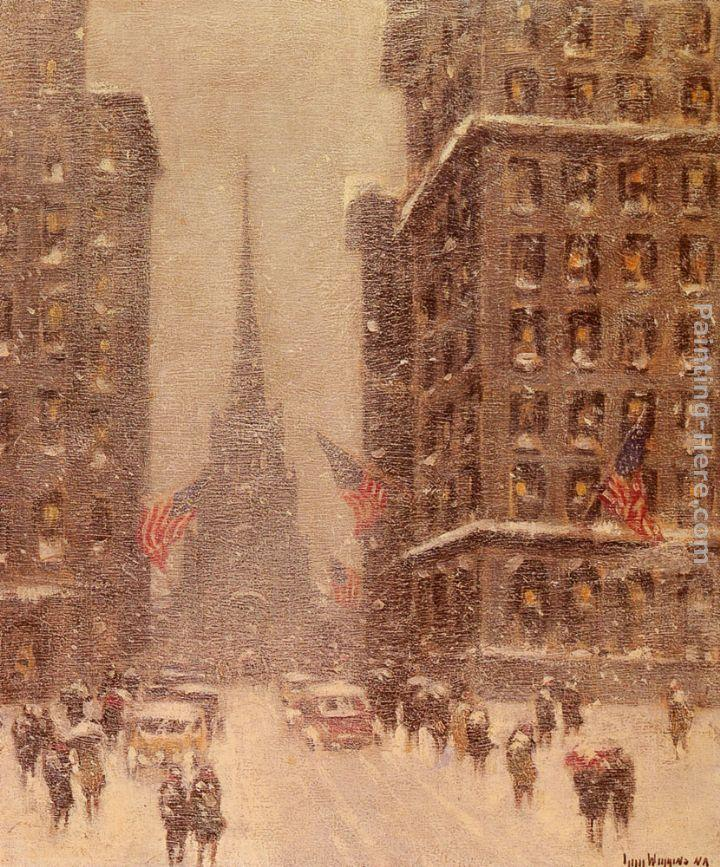 Guy Carleton Wiggins Trinity Church, Wall Street