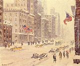 Winter Wall Art - Winter's Day, Fifth Avenue
