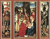 Hans Baldung Adoration of the Magi painting