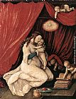 Hans Baldung Virgin and Child in a Room painting