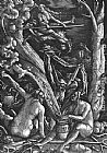 Hans Baldung Witches Sabbath painting