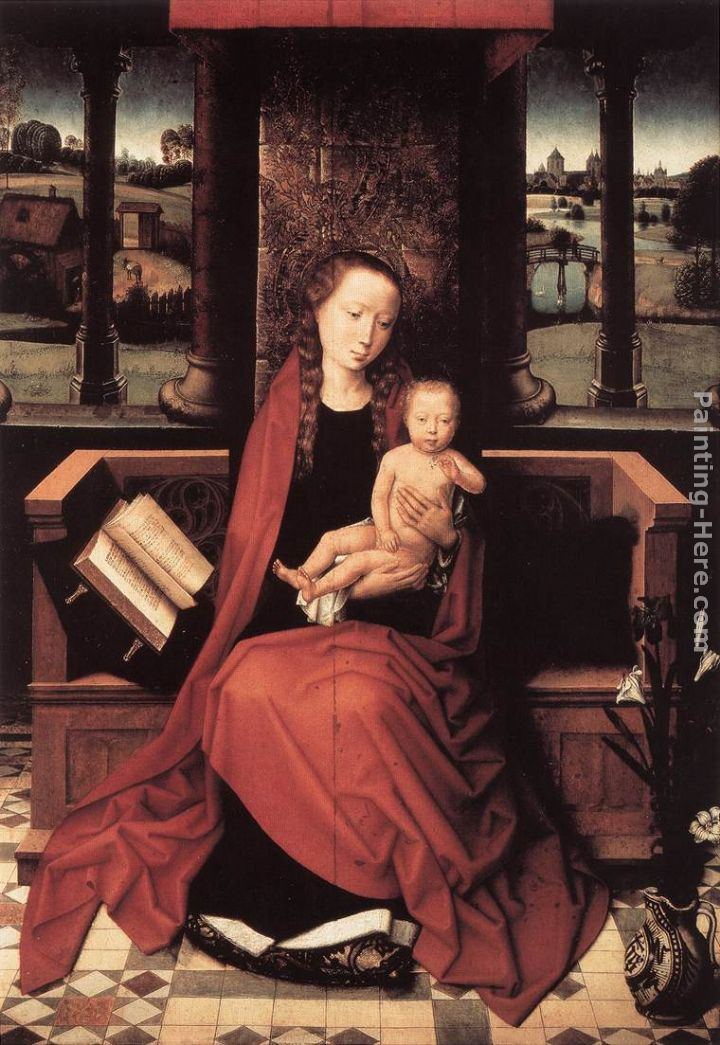 Hans Memling Virgin and Child Enthroned