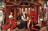 Hans Memling Canvas Paintings - Adoration of the Magi