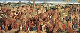 Hans Memling Canvas Paintings - Advent and Triumph of Christ