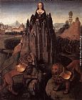 Hans Memling Canvas Paintings - Allegory with a Virgin