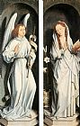 Hans Memling Canvas Paintings - Annunciation